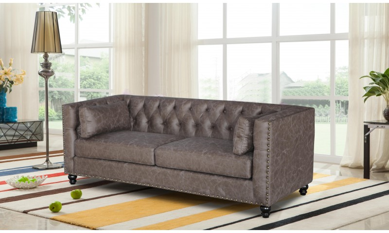 BALMORAL CHESTERFIELD SOFA IN FABRIC