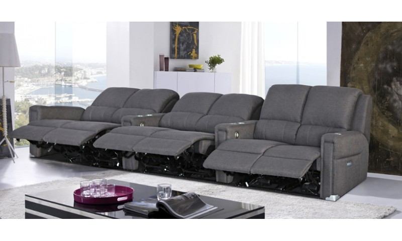 BOSTON HOME THEATRE LOUNGE IN LEATHER WHERE IT COUNTS