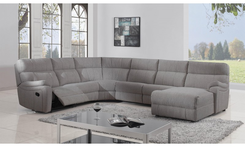 COLORADO KING SIZE CORNER MODULAR LOUNGE IN LEATHER WHERE IT COUNTS