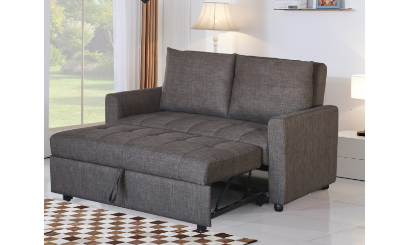 GALAXY SOFA BED IN FULL GENUINE LEATHER